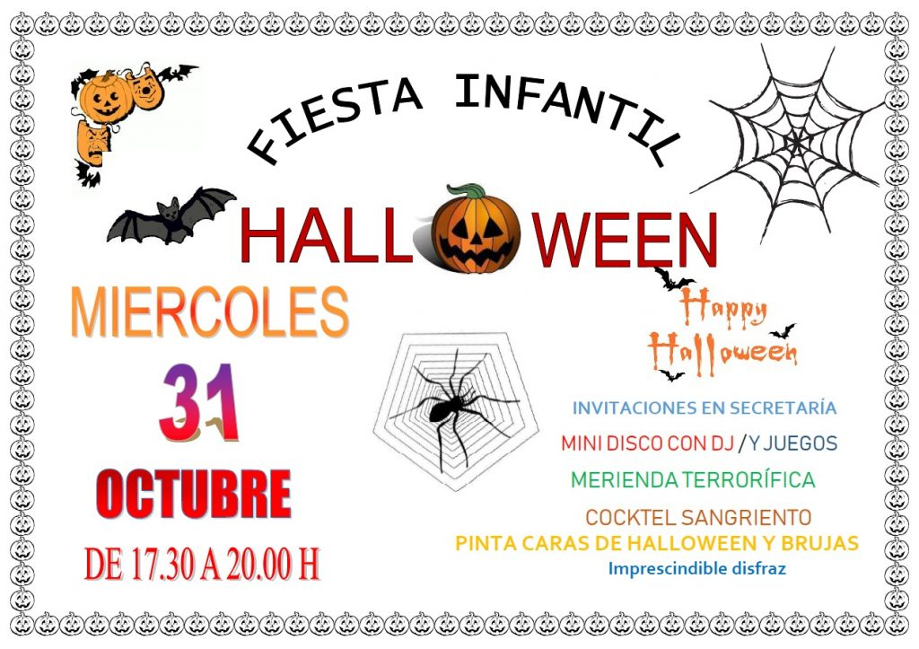Fiesta Infantil Halloween 2018